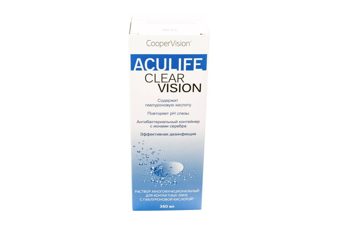 Раствор ACULIFE Clear Vision 360 мл New!