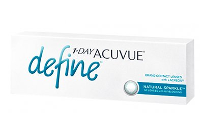 Контактные линзы Johnson & Johnson 1-Day Acuvue Define Sparkle (30)